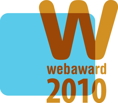 2010 WebAwards logo.  (PRNewsFoto/Web Marketing Association)