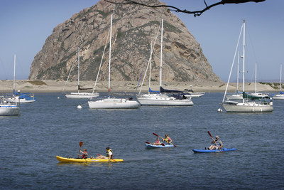 Kayaking, sailing, paddle boarding and whale watching in Morro Bay. (PRNewsFoto/Morro Bay)