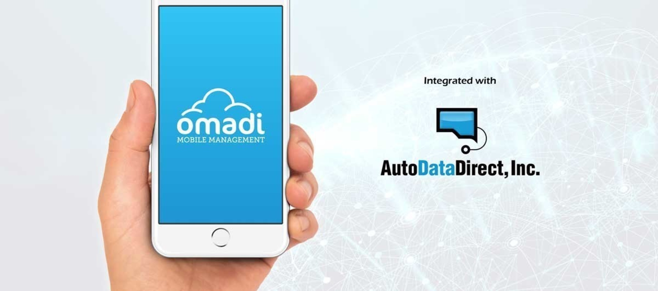 Auto Data Direct >> Omadi And Auto Data Direct Announce Powerful Integration For The
