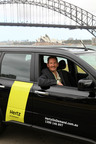 Chris Rusden, Regional Vice President of Hertz Australasia at the launch of Hertz On Demand car sharing in Sydney, with Australia now the seventh country in the international program.  (PRNewsFoto/The Hertz Corporation)