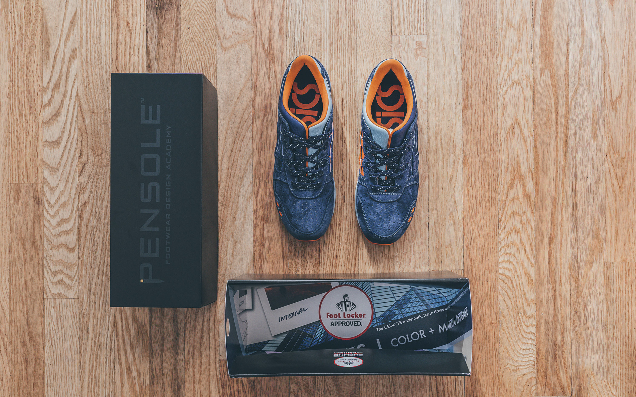 """The special-edition ASICS GEL-Lyte(R) III """"PENSOLE Reflect"""" sneaker design will be available globally, in limited quantities, at select Foot Locker stores on Sept. 17, 2016."""