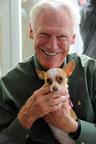 Rich Avanzino and friend. (PRNewsFoto/Maddie's Fund)