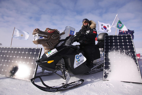 The World's First CO2 Free Expedition to Antarctica