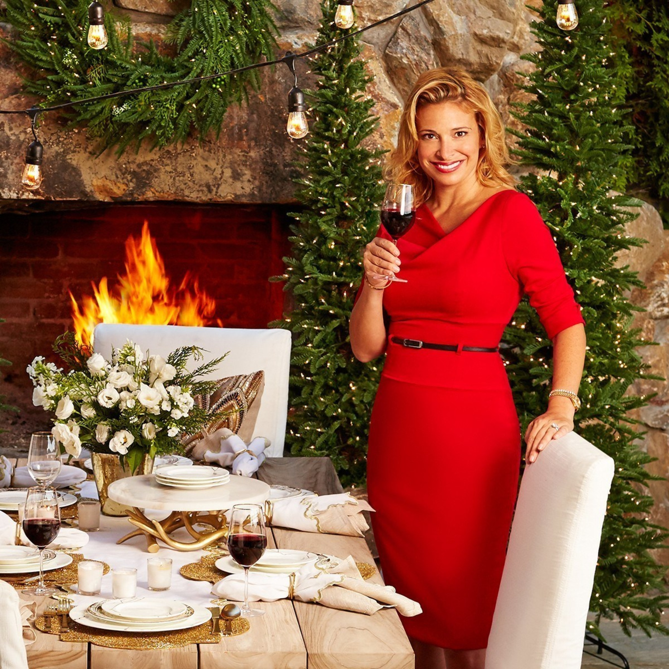Celebrity chef Donatella Arpaia launches gourmet and holiday collections with Frontgate.