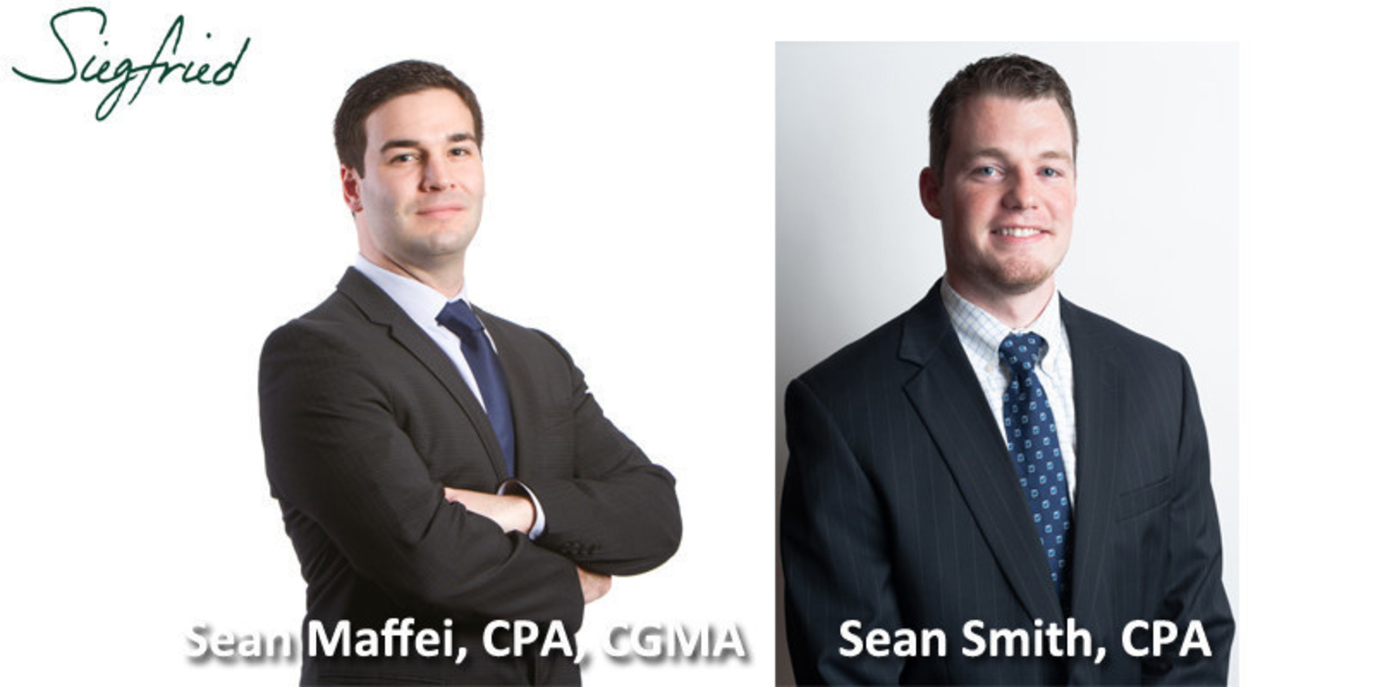 The Siegfried Group, LLP Welcomes New Team Leaders to Their New Roles