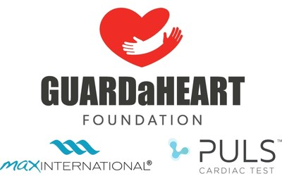 GUARDaHEART Foundation with partners Max International and The PULS Cardiac Test