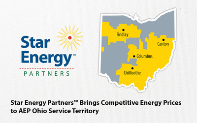 Star Energy Partners Brings Competitive Energy Prices to AEP Ohio Service Territory.  (PRNewsFoto/Star Energy Partners)