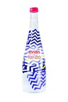 evian + KENZO Limited Edition Bottle (PRNewsFoto/evian)