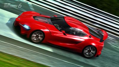 Virtual Toyota FT-1.  (PRNewsFoto/Toyota Motor Sales)