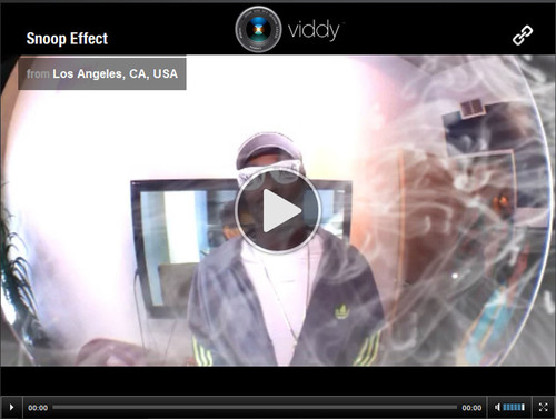 Snoop Dogg Launches Product on Leading Mobile Social Video App Viddy