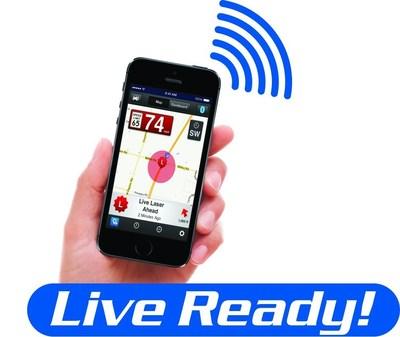Live Ready! iPhone logo (PRNewsFoto/ESCORT)