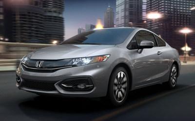 The 2015 Honda Civic is the latest Honda to head onto dealership lots. (PRNewsFoto/Honda of Burien)