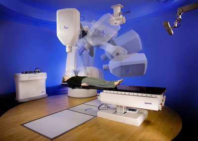 The robotic CyberKnife technology provides nonsurgical treatment of malignant and benign tumors in five or fewer outpatient procedures.(PRNewsFoto/Columbus CyberKnife)