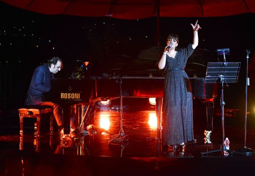 Lily Allen and Jose ChillyMARTINI© CELEBRATES 150 YEARS OF ITALIAN STYLE AT GLITTERING ANNIVERSARY GALA IN LAKE  ...