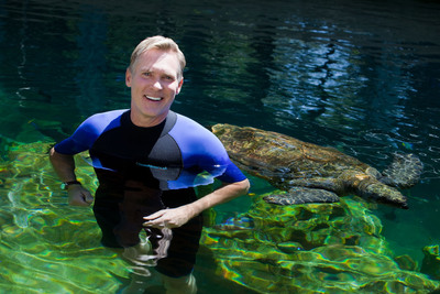 "SeaWorld Parks & Entertainment and Litton Entertainment today announced the second season of ""Sea Rescue with Sam Champion"" premieres this Saturday, Oct. 6. The show's debut season was a remarkable success, reaching more than 30 million viewers and inspiring strong levels of fan feedback and engagement. Hosted by environmental journalist and Good Morning America weather anchor Sam Champion, Sea Rescue airs nationally on Saturday mornings during Litton's Weekend Adventure on over 95 percent of the country's ABC affiliates. Orlando, Fla., SeaWorld Parks & Entertainment.  (PRNewsFoto/SeaWorld Parks & Entertainment)"