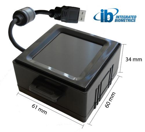 Integrated Biometrics annonce le lancement du scanner d'empreintes digitales le plus petit et le