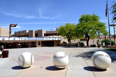 Entrance to Cashman Field, Las Vegas (credit: Glenn Pinkerton, Las Vegas News Bureau)