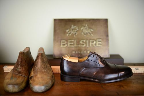 Dressing well is a form of good manners! Belsire presents a collection of sophisticated Made in Italy brogues to make sure you are looking your absolute best for every occasion. (PRNewsFoto/BELSIRE)