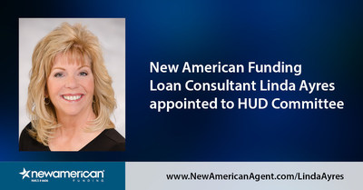 New American Funding Loan Consultant Linda Ayres Appointed to HUD Committee.