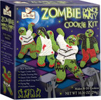 The In The Mix (TM) Zombie Dance Party cookie kit by Brand Castle provides everything you need to make rockin' zombie cookies. (PRNewsFoto/Brand Castle)