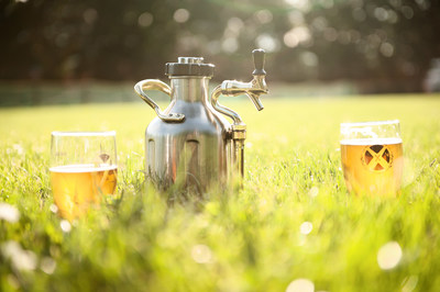 GrowlerWerks' uKeg keeps draft beer fresh, cold and carbonated, wherever you want to be. Visit www.growlerwerks.com.