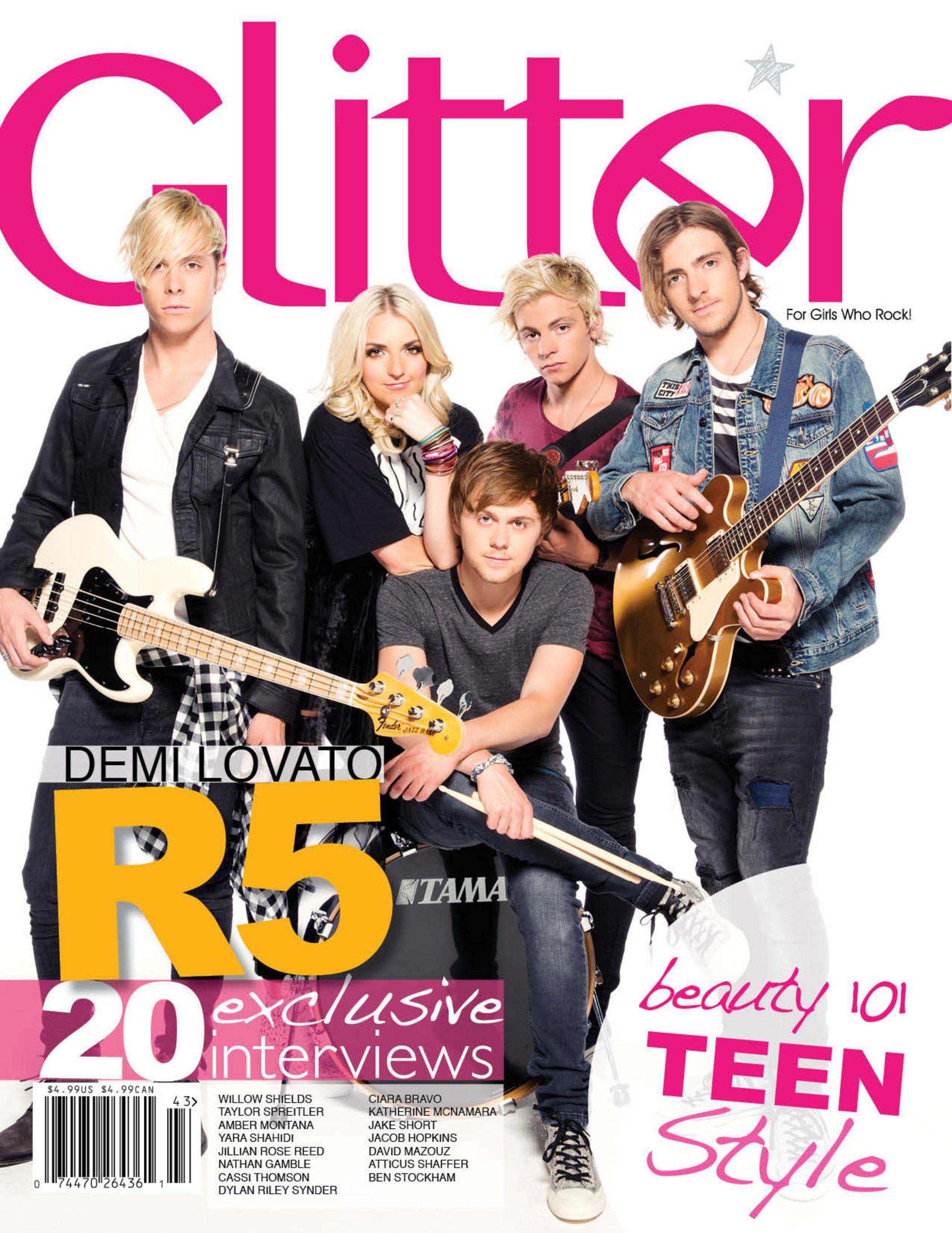 Glitter Magazine for Girls Who Rock!