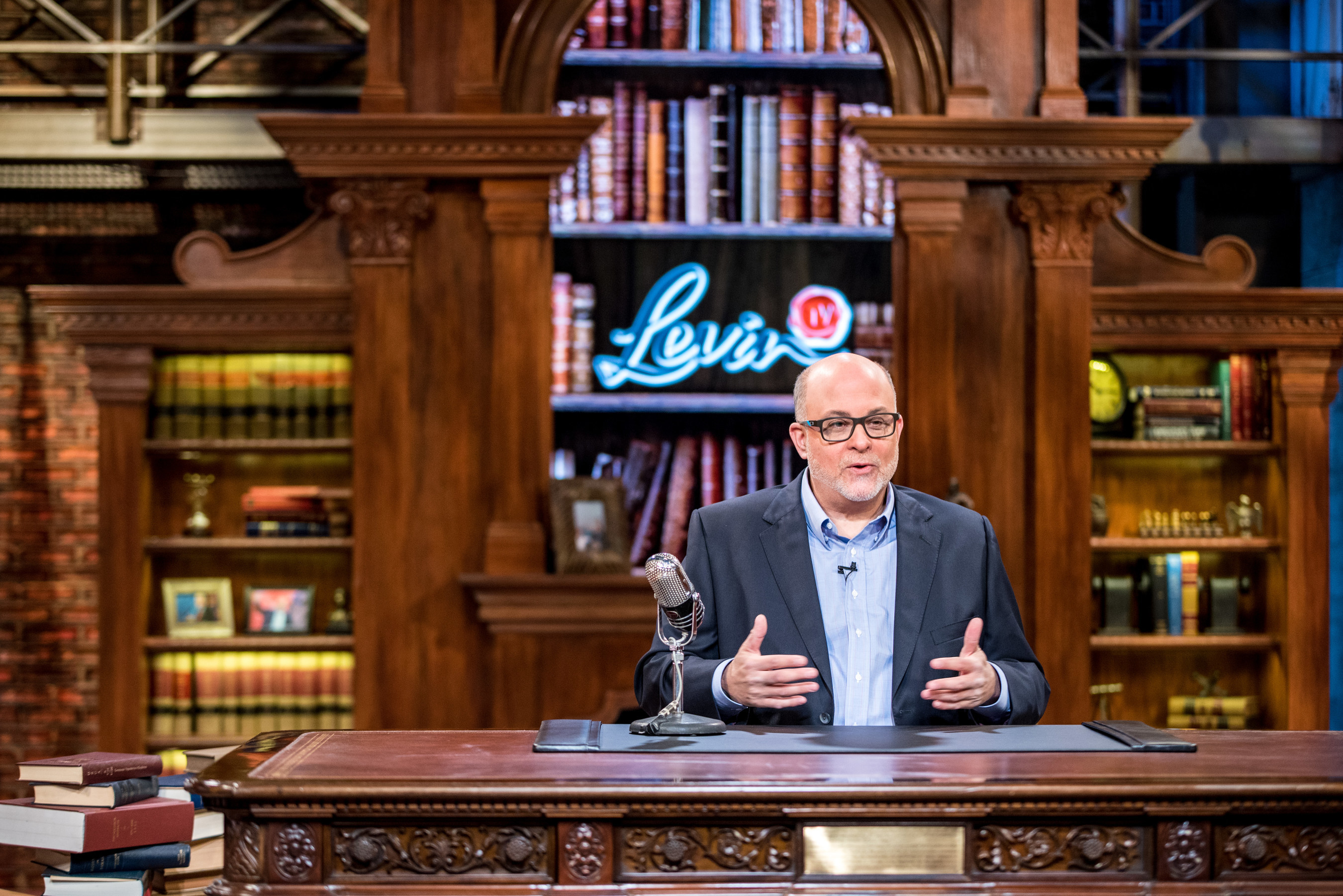Mark Levin's exciting new political talk show, LevinTV, premieres today. See LevinTV.com for details. Photo courtesy of LevinTV.