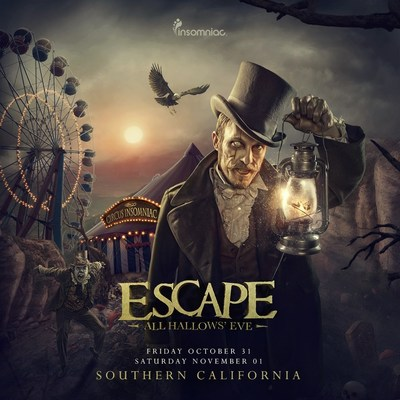 4th Annual Escape All Hallows' Eve Returns to Southern California Friday, October 31 & Saturday, November 1, 2014 (PRNewsFoto/Insomniac)
