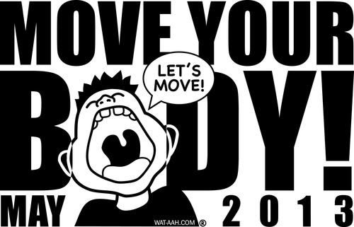 WAT-AAH! Foundation Kicks Off 'Move Your Body 2013,' a Nationwide Kids Exercise Event in Support of