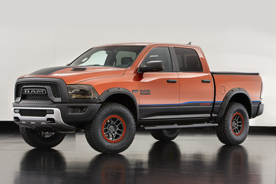 Ram Rebel X is among the Mopar-modified vehicles showcased at SEMA 2015.