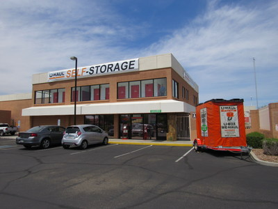 U-Haul has put its corporate sustainability practices to use by renovating a former Allstate Self Storage facility for a full-service U-Haul store serving the Paradise Valley community.