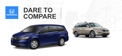 Minivan market sparks with fierce competition behind a for Honda dealer manhattan