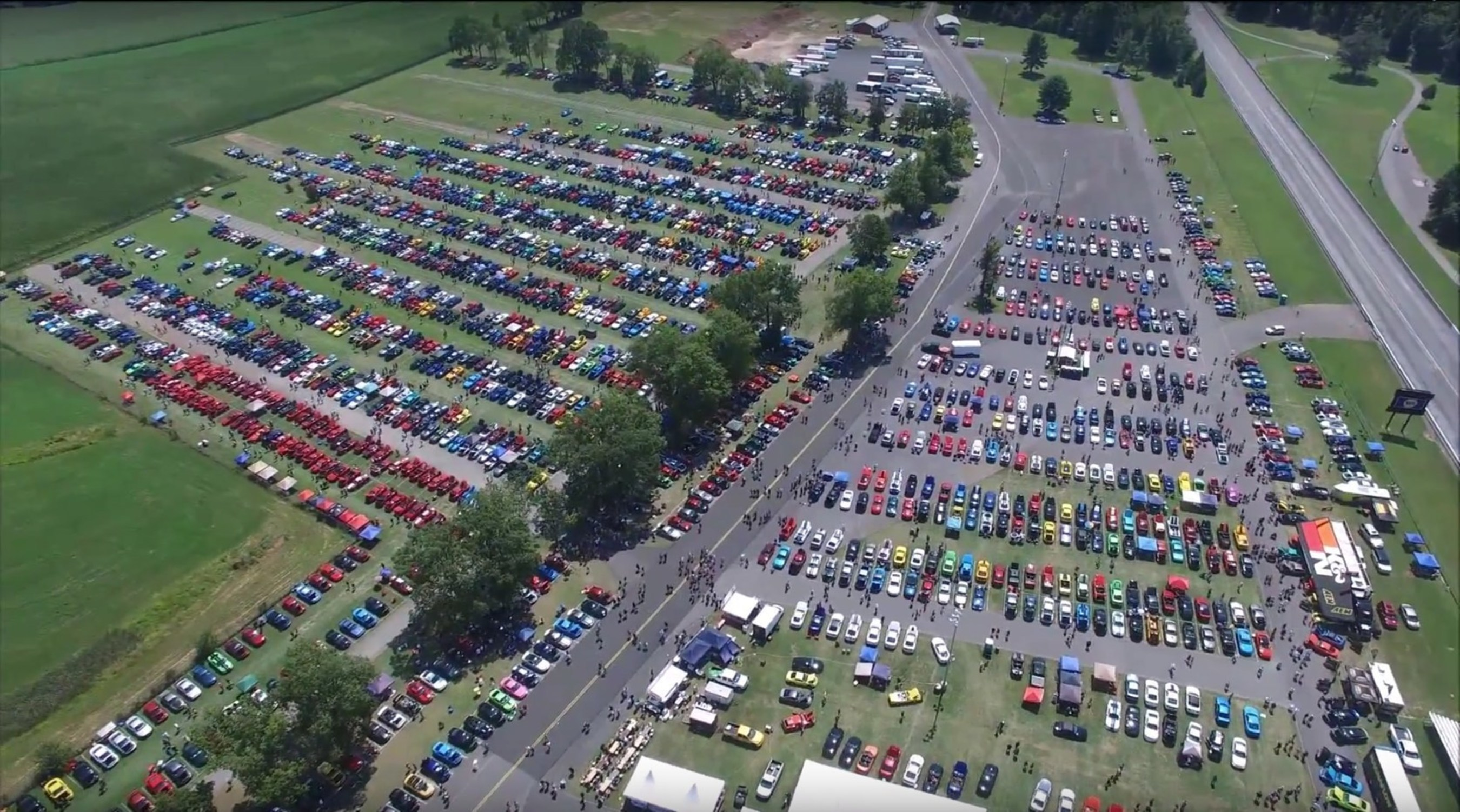 AmericanMusclecom Hosts Mustangs At Th Annual Car Show - American muscle car show