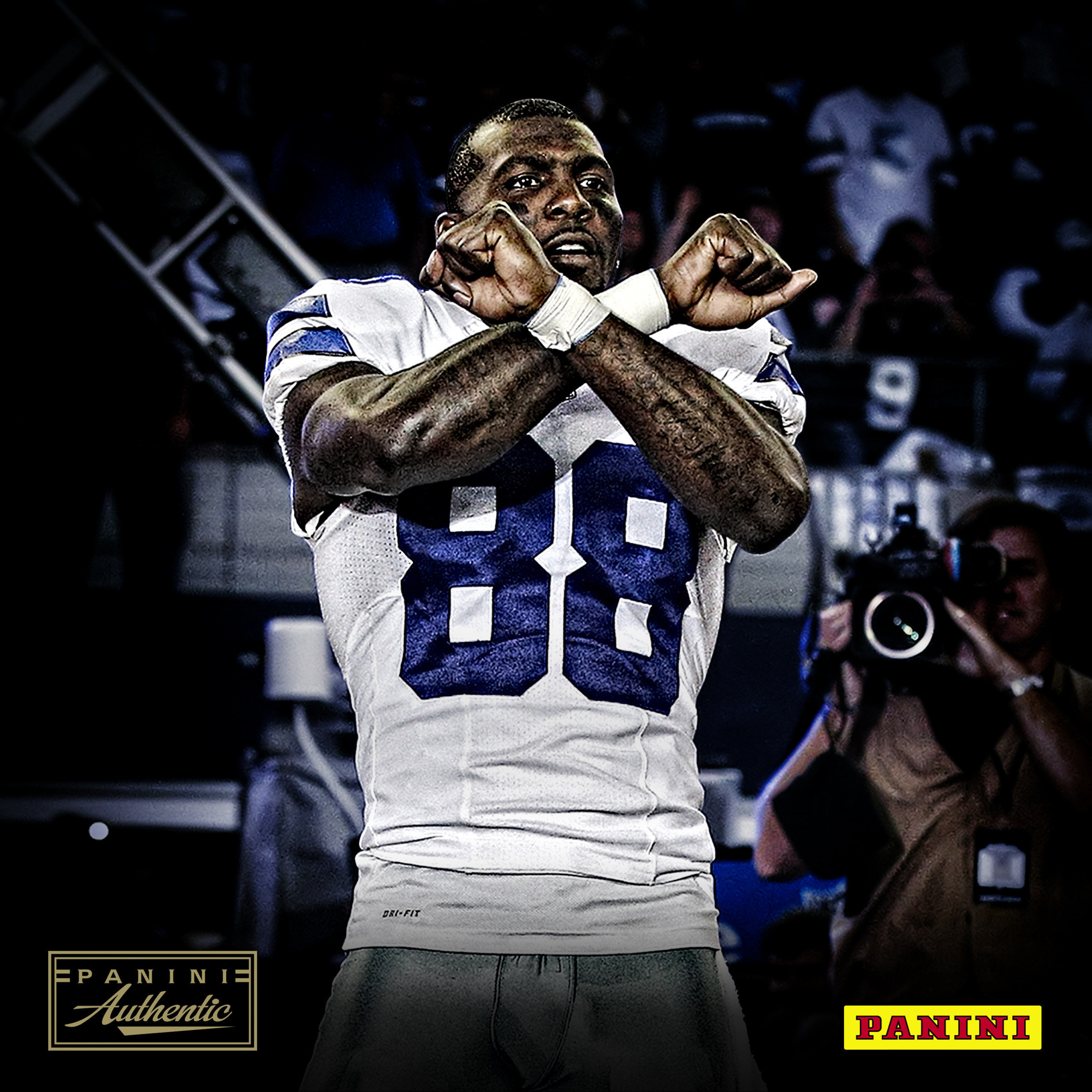 1b69ccea4 Panini America Inks Dallas Cowboys Superstar Dez Bryant To Exclusive  Memorabilia And Autograph Agreement