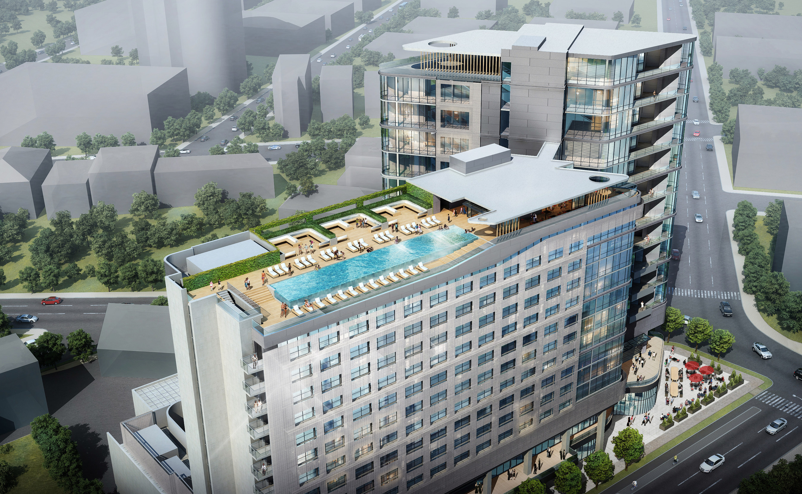 Virgin Hotels reveals its Nashville building designs with local ownership and developer Dean Chase of Construction Management firm D.F. Chase Inc., and architecture firm, BLUR Workshop. Virgin Hotels Nashville, expected to open in the fall of 2016, will be located at the start of the city's historic and nationally recognized Music Row, with the address One Music Row. The first Virgin Hotels property opened January 15, 2015 in Chicago.