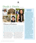 "Example of Cottages & Gardens Publications Iconic ""Deeds & Don'ts"" Column.  (PRNewsFoto/Cottages & Gardens Publications)"