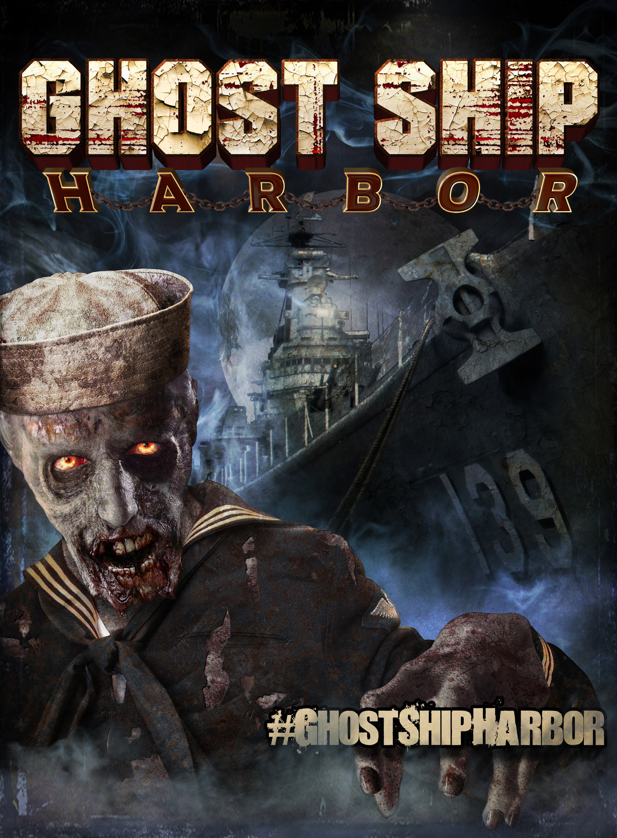 ghost ship harbor takes over the uss salem for a season of sheer terror