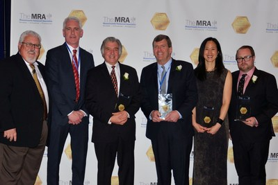 Winners at the Massachusetts Restaurant Association's 2016 Annual Awards Dinner at the Boston Convention & Exhibition Center