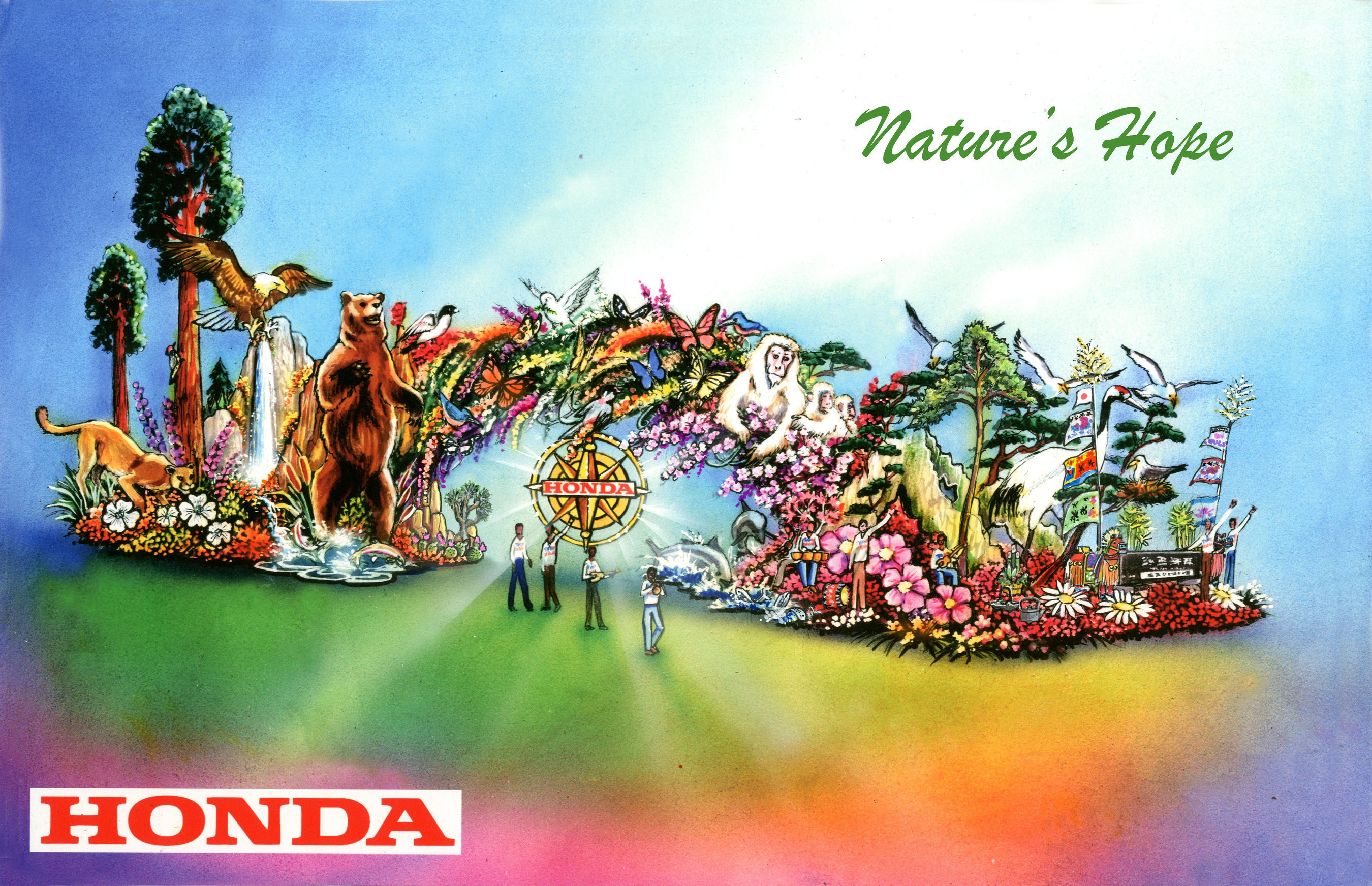 Honda's 'Nature's Hope' Float to Lead 2016 Rose Parade', Celebrate Majestic Beauty of National Parks