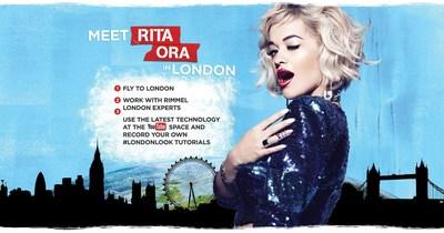 Rimmel London Launches The London Look International Contest With Rita Ora (PRNewsFoto/Rimmel)