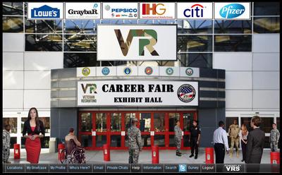 VRS Virtual Career Fair.  (PRNewsFoto/Veteran Recruiting Services)