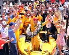 Ryan Hunter-Reay Wins Borg-Warner Trophy(TM). Photo by Rob Banayote (PRNewsFoto/BorgWarner Inc.)