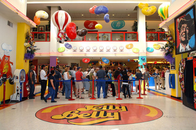 Jelly Belly Visitor Center in California prepares for National Jelly Bean Day.  (PRNewsFoto/Jelly Belly Candy Company)