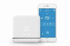 The new tado Smart AC Control is now available. It connects your smartphone to your air conditioner. tado pre-cools before you get home and saves when you're away by turning the AC on and off using your phone's location.