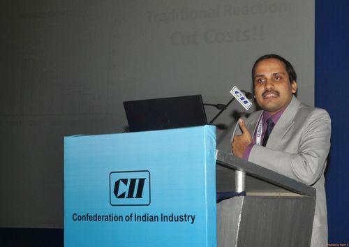 Nirmalya Banerjee, Business Head, BMGI, speaking at the event (PRNewsFoto/BMGI)