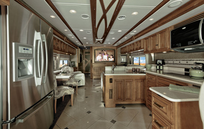 2013 Winnebago Tour 42GD.  (PRNewsFoto/Winnebago Industries, Inc.)