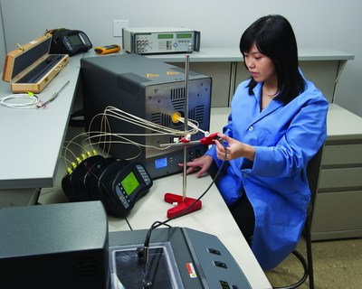 The 9118A enables calibration professionals to conduct comparison calibrations of the noble- and base-metal thermocouples used in a variety of industries, including aerospace, automotive, energy, metals, and plastics. (PRNewsFoto/Fluke Calibration)