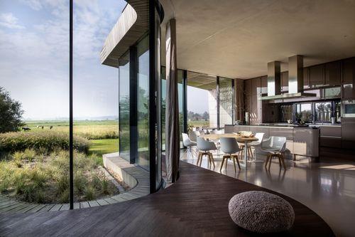 Ben van Berkel / UNStudio design The W.I.N.D. House - an expansion of the smart home (PRNewsFoto/Ben van Berkel _ UNStudio)