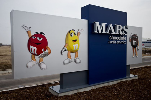 Mars Chocolate North America opened the doors of a new, state-of-the-art, roughly 500,000-square-foot facility in Topeka, Kansas.  (PRNewsFoto/Mars Chocolate North America)