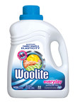 The new Woolite(R) Everyday detergent with Fiber-Flex technology maintains fabric shape and elasticity so that garments keep a perfect fit wash after wash. (PRNewsFoto/Woolite)